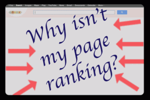 Why Isn't My Page Ranking Yet?